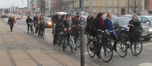 Copenhagen cyclists group