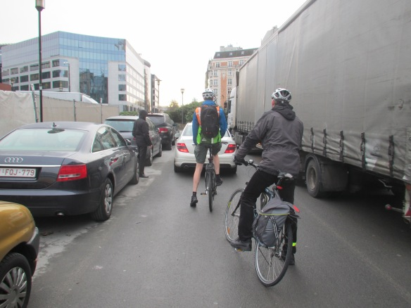 Cycling Congestion in Brussels