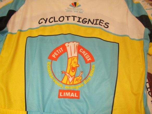 Cyclottignies cycling shirt