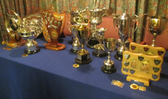 Godric Cycling Club Trophies