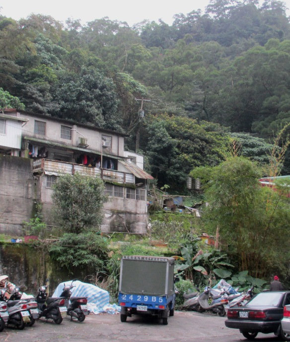 Taipei hillside houses