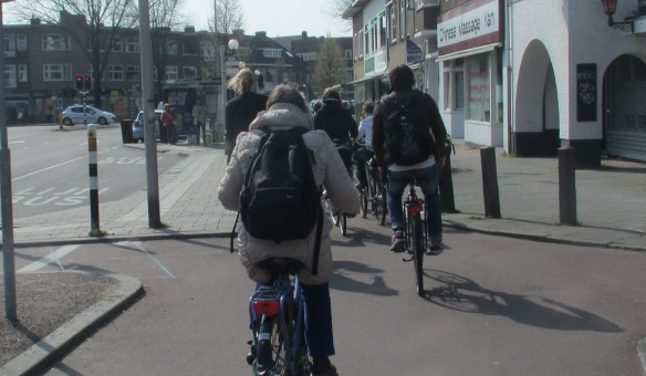 Cycle paths in Utrecht