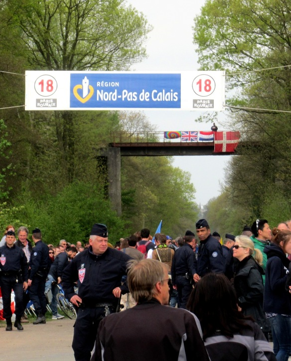 entrance to the Arenberg paris Roubaix