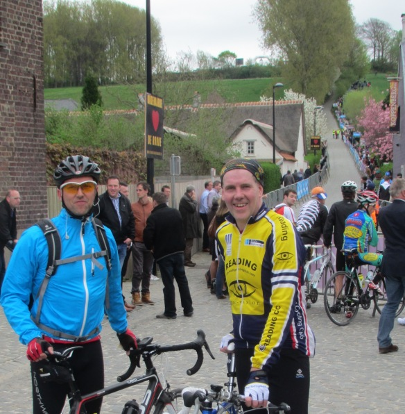 Kevin and Vincent at the Koppenberg