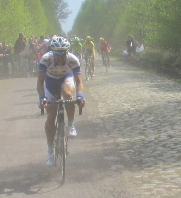 Paris Roubaix 2014 Arenberg dust