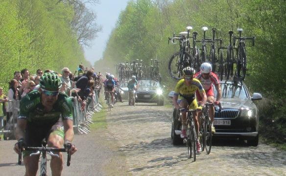 Paris Roubaix 2014 Arenberg