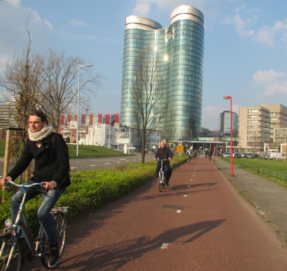 Utrecht cycle routes