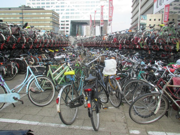 Utrechts bicycle parks