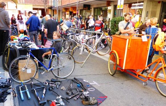 Bike sale Bikes and Baristas Adelaide Velo-city 2014
