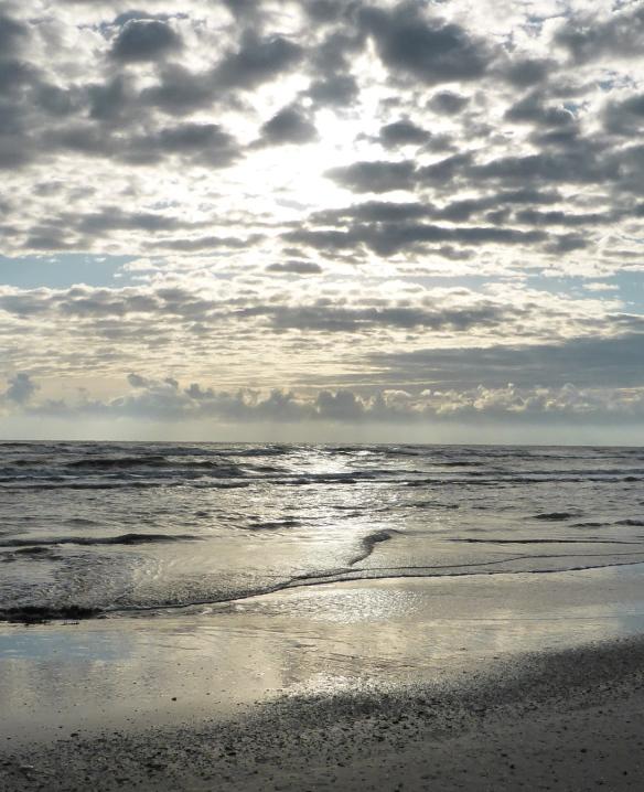 Morning over the Adriatic Rimini Italy