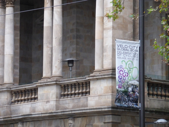 Adelaide town hall welcomes velo-city