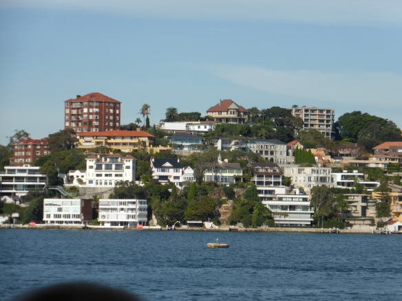 Beachside houses in Sydney