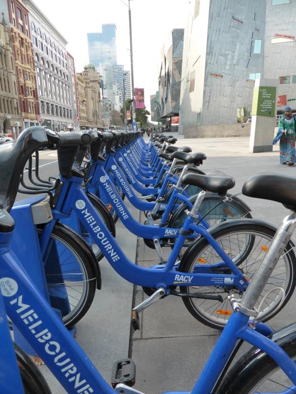 Melbourne Pblic Bike sharing scheme