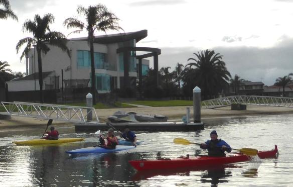 Patterson Lakes kayaking