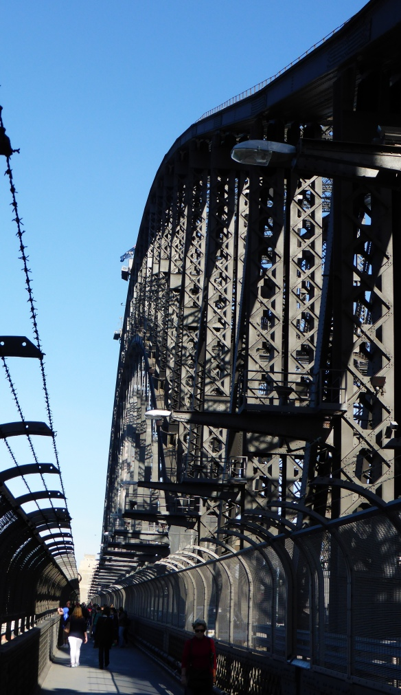 Sydney harbour bridge footway