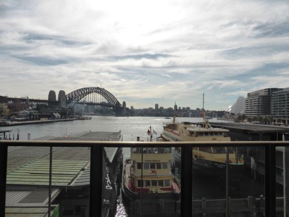 View from Circular Quay station