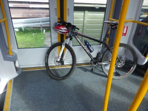 Bike and Train in Sydney