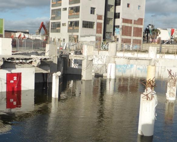 earthquake Flooded basement Christchurch New Zealand