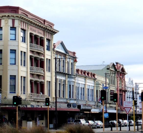 Invercargill Dee Street facades