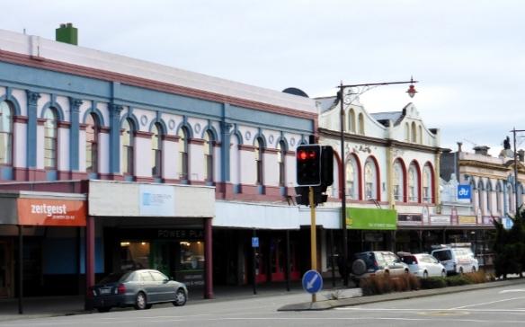 Invercargill shop fronts