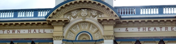Invercargill Town hall and Theatre facade