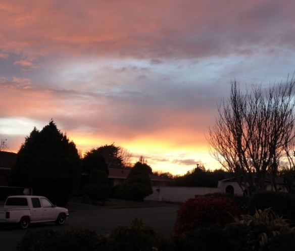 Invercargill winter sunrise