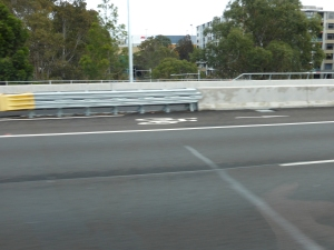 M2 freeway cycle path Sydney