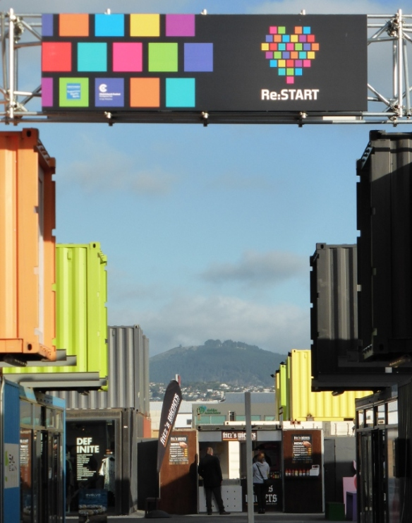 reStart Christchurch containers