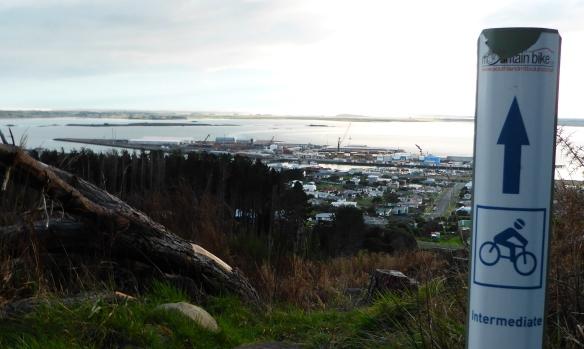 Bluff Hill Mountain bike tracks New Zealand