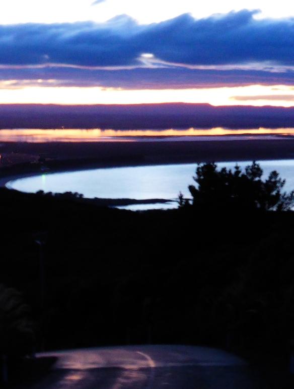 Buff Hill sunrise New Zealand