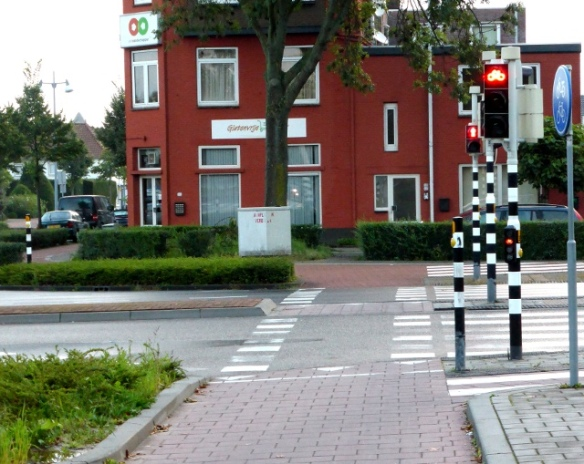 Dutch cycling infrastructure Geleen