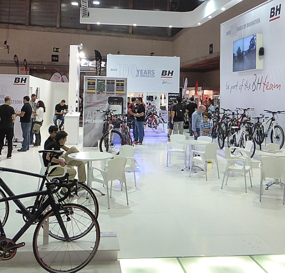 BH Booth Unibike Madrid