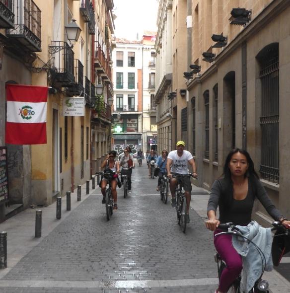 City centre minor street Madrid