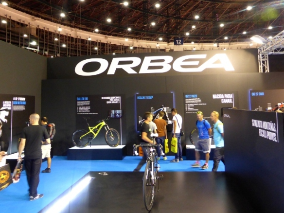 Orbea Booth at Unibike Madrid
