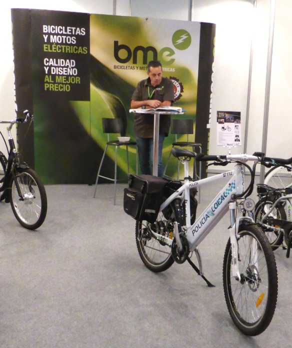 Police e-bike from BME Spain