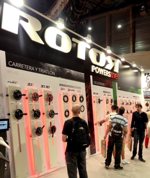 Rotor booth Unibike Madrid