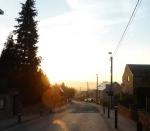 Sunrise en route to Ottignies