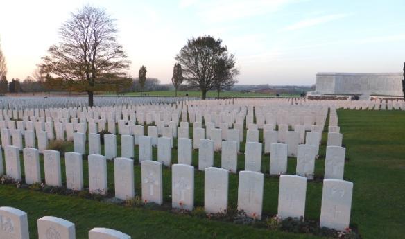 Tyne Cot Graveyard Flanders