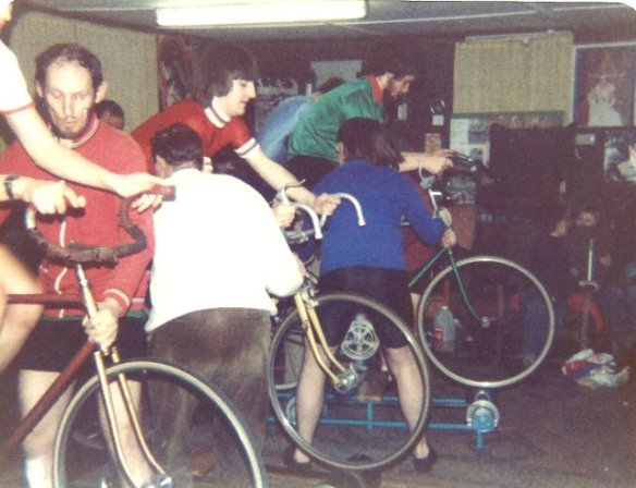 Roller racing Godric CC early 1980s
