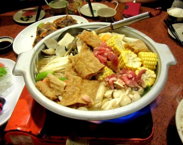 Hakka style hot pot Taiwan