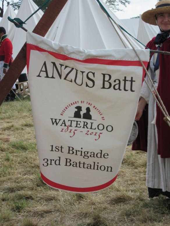Waterloo 2015 Anzus batallion badge