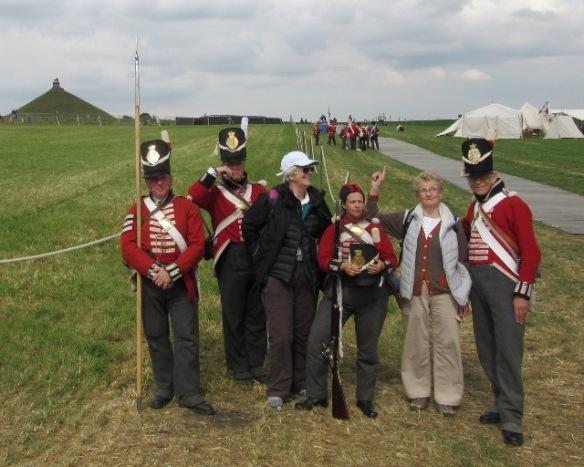 Waterloo 2015 bivouacs 1