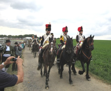 Waterloo 2015 reenacters 14