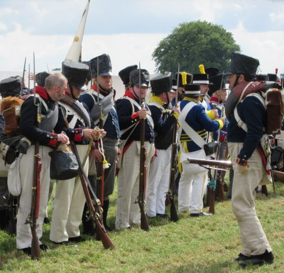 Waterloo 2015 reenacters 6