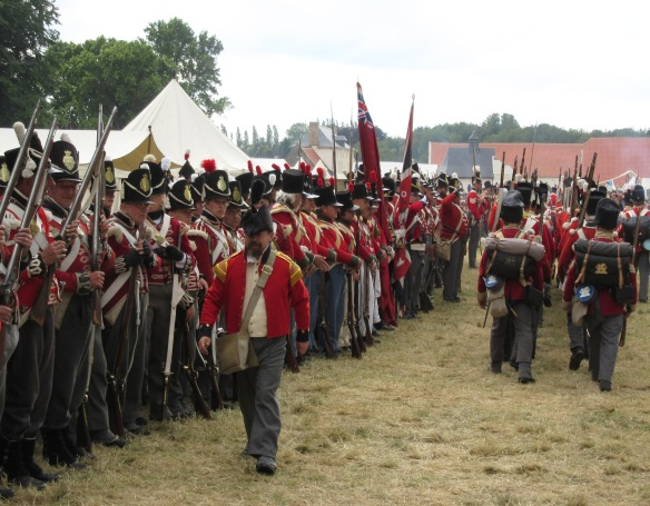 Waterloo 2015 reenacters 9