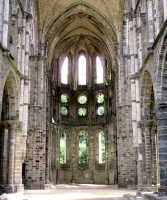 Villers la Ville Abbey Chapel