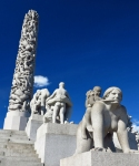 Granite statues Circle of Life by Vigeland Olso photo by Morten Kerr