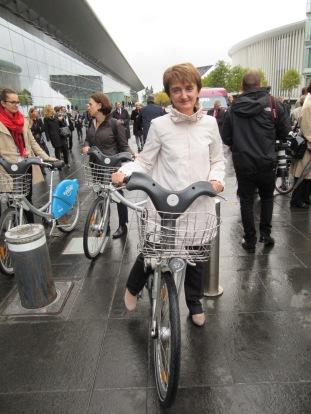 Polish Minister of Infrastructure Maria Wasiak