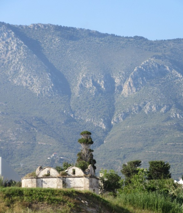 Five finger mountains North Cyprus