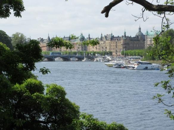 Djurgården view to Stockholm city centre